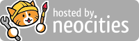 logo de hosted by neocities